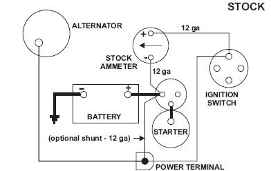Wiring Diagram For Lucas Voltage Regulator on motorcraft alternator wiring diagram
